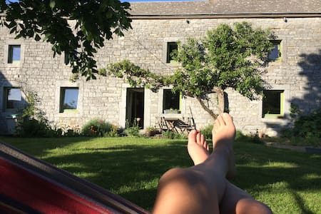 Charming house with garden Durbuy - Durbuy - Talo