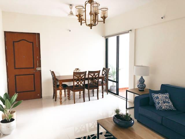 Entire terrace flat in kalyani nagar