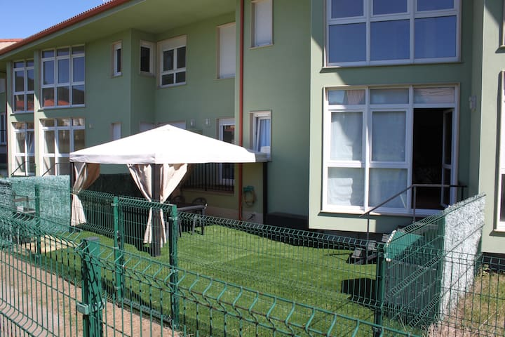 Apto con jardín playa Langosteira - Finisterre - Wohnung