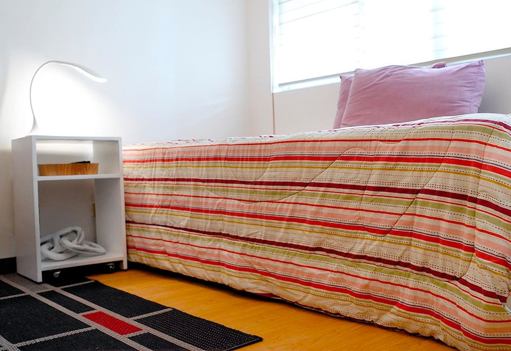 Single trundle (with pull-out) bed.