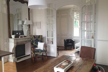 2 pièces, jardin, parking possible, WIFI - Honfleur - Apartamento