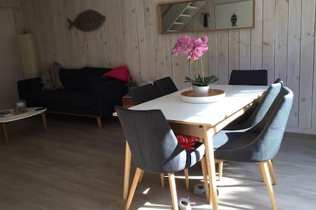 Maison en bois Cap Ferret, plage de l'Horizon
