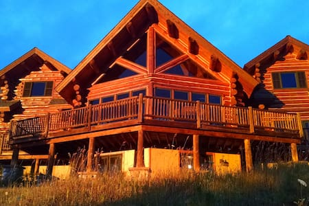 beautiful log home - Charlevoix - Chalet