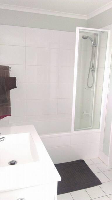 Upstairs Bath and Loo