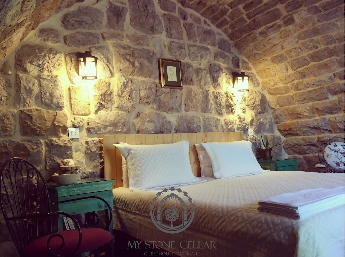 Historical vaulted cellar 2 in a 1903 House - Guesthouses for Rent in Douma North Lebanon & Historical vaulted cellar 2 in a 1903 House - Guesthouses for Rent ...