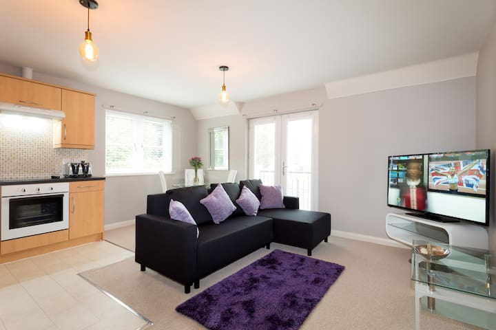 No.8 Beech Lodge 2 Bed Apt in Leafy Headington - Oxford - Apartamento