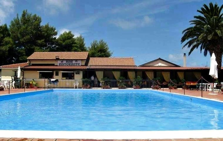 Casa vacanze in Residence Le Palme - Tropea - Rumah