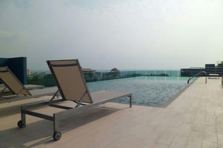 Acqua Condominium 1 bedroom  38 sqm - Muang Pattaya - Leilighet