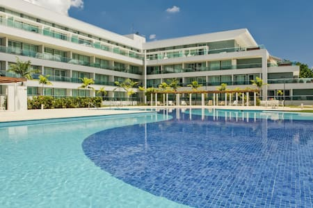 Flat de 42 m2 no Lake View Resort - Brasilia - Apartment