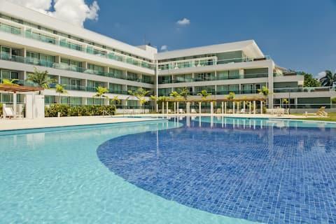 Flat de 42 m2 no Lake View Resort
