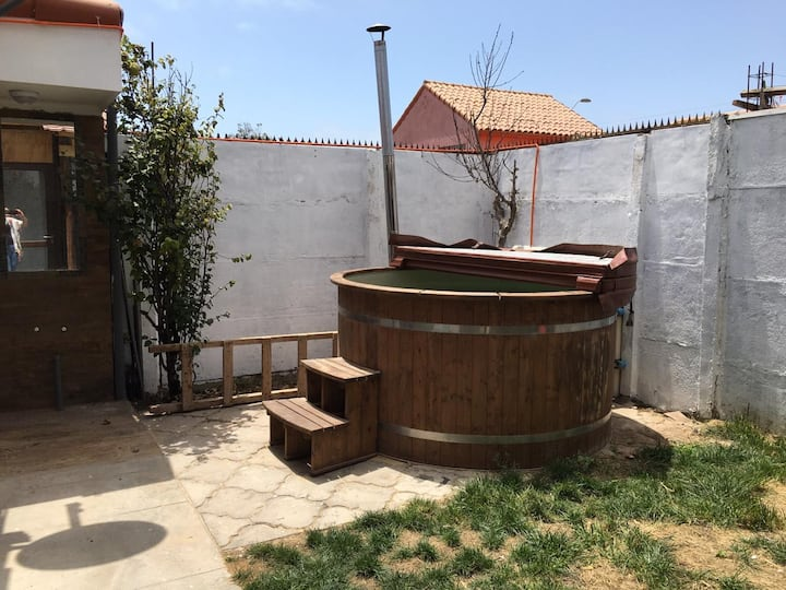Casa con Hot-Tub calefacción eléctrica (tinaja )