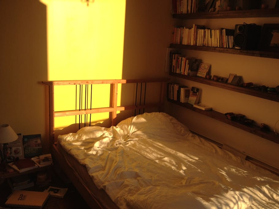 Afternoon sun in your bedroom