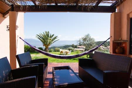 Villa 10 mn d'ajaccio vue mer - Alata - Dom