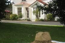 Myrtleville House, front garden