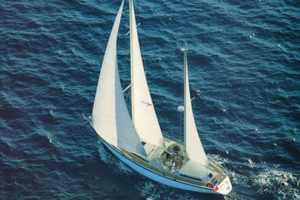 16m sailing yacht