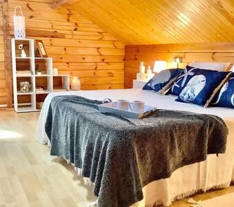 Preciosa y amplia vivienda de madera