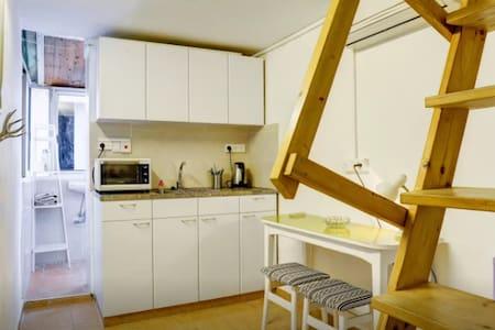 ♡ Sweet & Cozy Private Studio- BEST MONEY VALUE ♡ - Tel Aviv-Yafo - Lägenhet