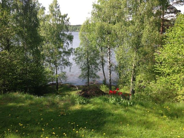 Solbacken - Lantlig idyll vid sjö - Vagnhärad - Cabin