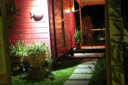Guaminí Hostel, habitación doble. - balneario barra do chui - Oda + Kahvaltı