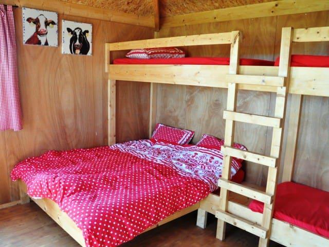 Orgineel overnachten bij de boer - Schellinkhout - Appartement