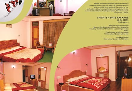 hotel for travellers & tourists - Manali