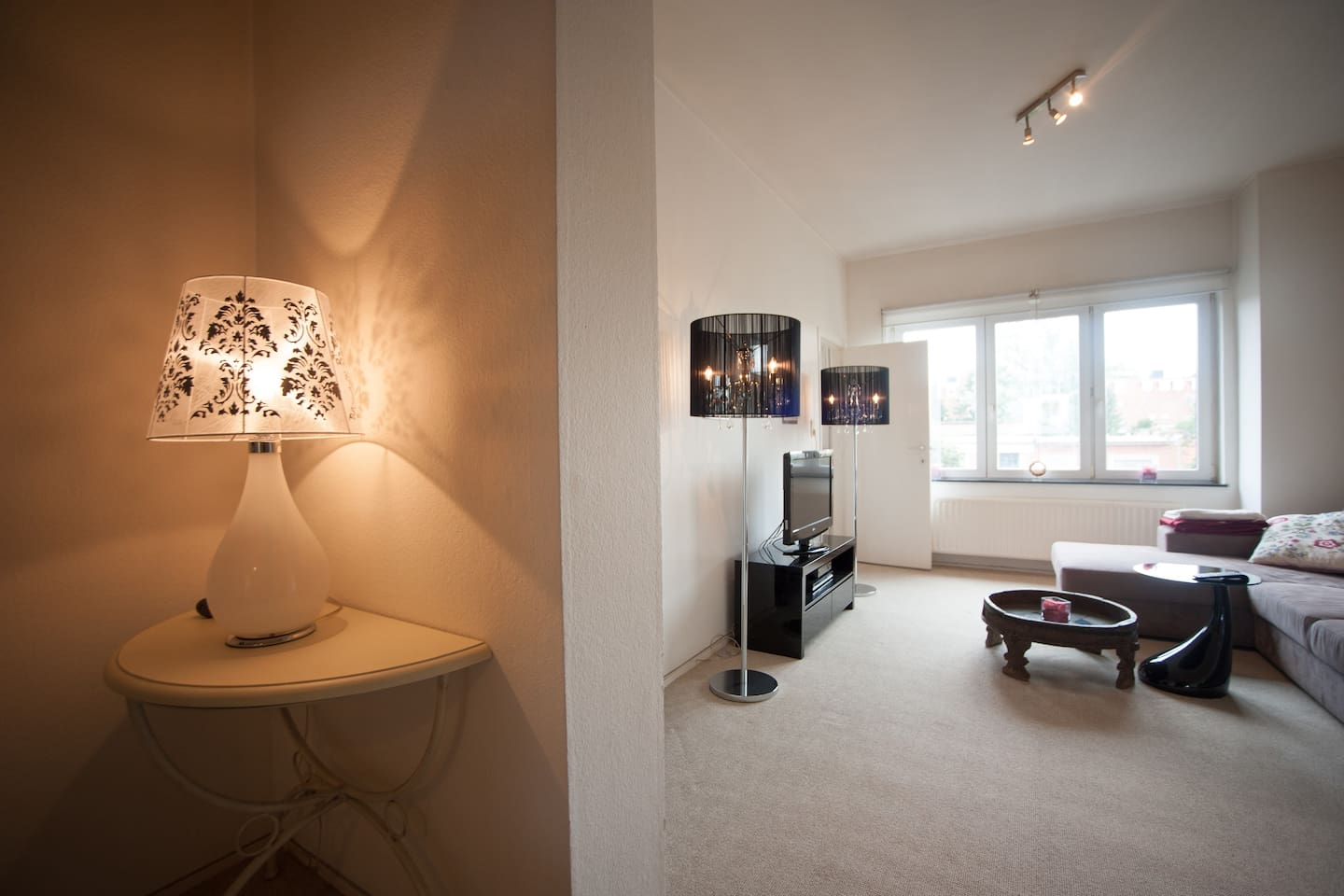 Girly apartment in chic area