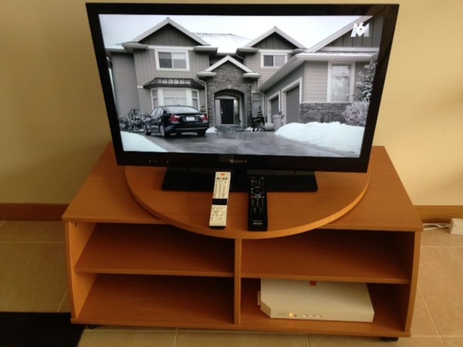 Living-room with cabe TV and Wifi