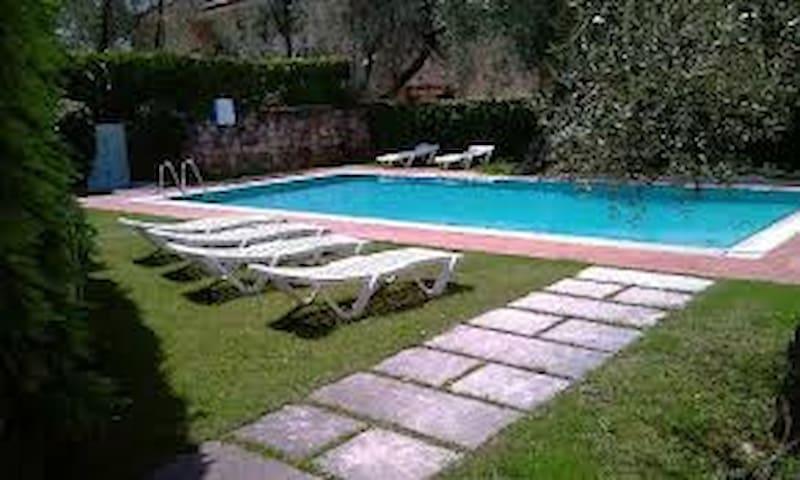 App Venere 2/4 posti con con vista lago e piscina - Brenzone - Apartment