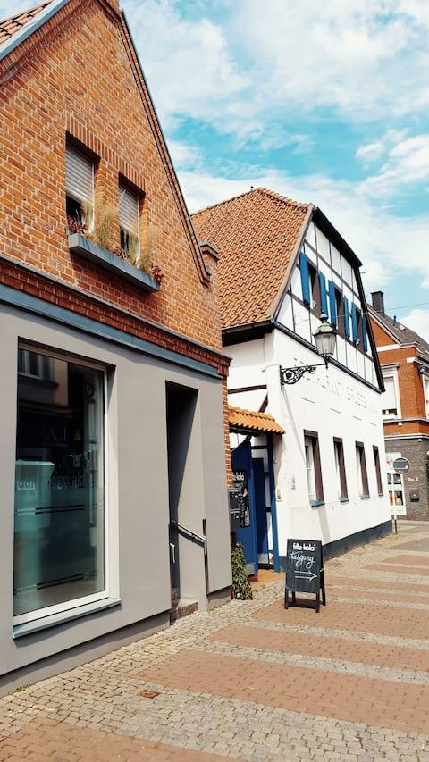 Sladké štúdio v centre mesta Lüdinghausen