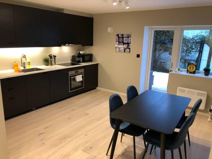Nyoppusset og fin leilighet nære Bergen sentrum