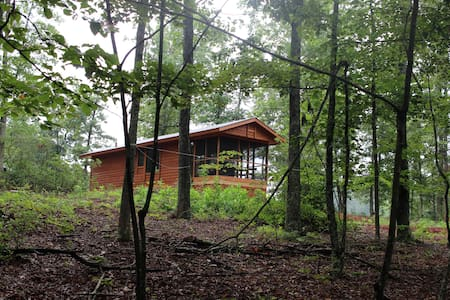 Private Cabin in woods near brew and wine trail - Nellysford