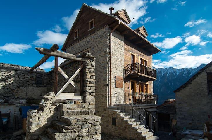 Terrarara, an eco b&b in the Alps - Viceno - Pousada
