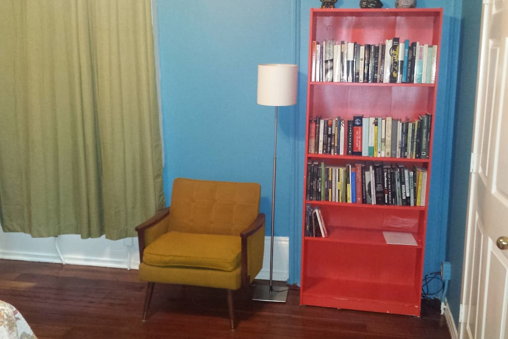 Second Bedroom, reading corner.