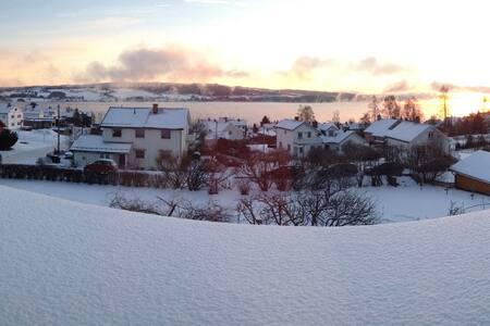 Lys og sentral leilighet med flott utsikt - Gjøvik - Pis