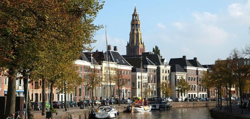 de Groningse binnenstad
