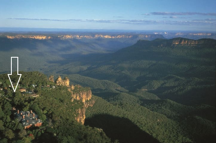 Three Sisters Great Views Spa Apartment - Katoomba - Apartemen