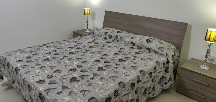 Mellieha Lodging double bedroom