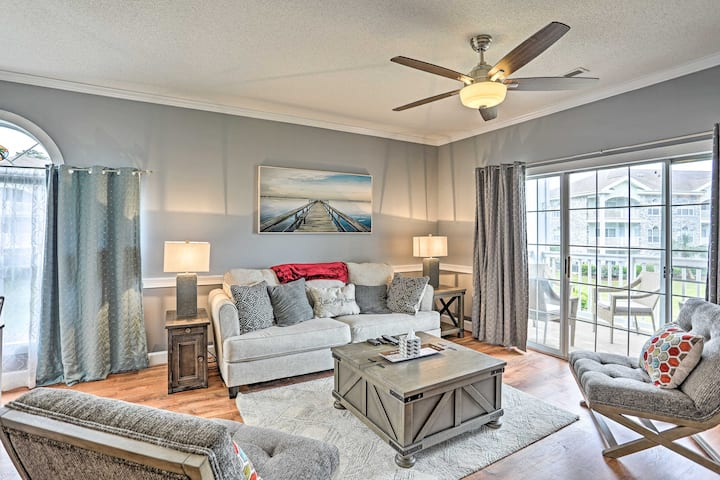 NEW! Myrtle Beach Condo w/ Pool, 2 Miles to Coast!
