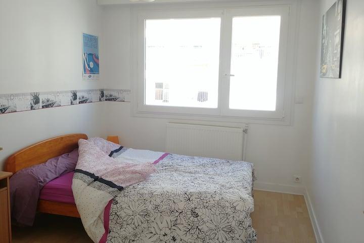 Chambre idéale pour séjour à Vannes