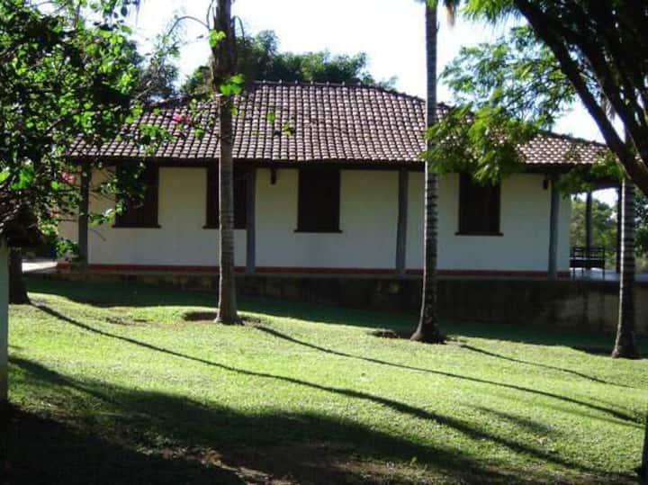 Casa de Campo a 30 minutos de Brasília.
