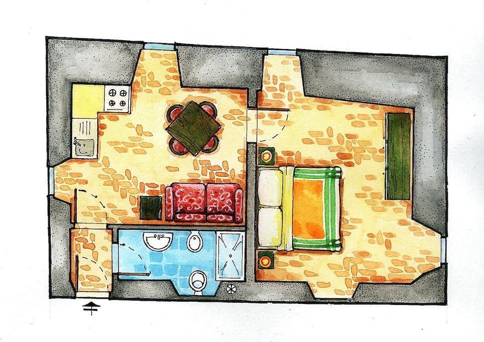 Melograno Apartment Plan