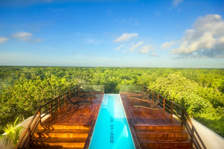 LUXURY SKY SUITE I, INFINITY POOL - Tulum
