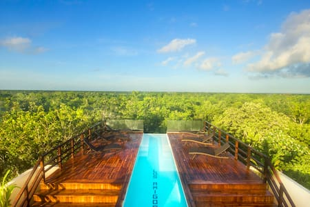 LUXURY SKY SUITE I, INFINITY POOL - Tulum - Lägenhet