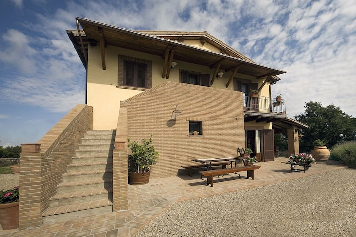 Mansion in Montefiascone with Pool, Garden, Parking,Barbecue