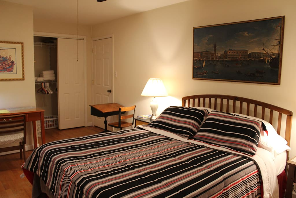 """""""The room was exactly as pictured online and the WiFi was super fast."""" - Christian (USN), Norfolk, VA."""