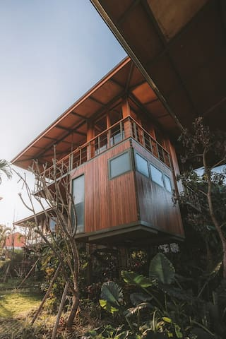 NEW treehouse in Canggu with three levels!