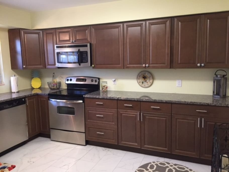 Completely new kitchen!