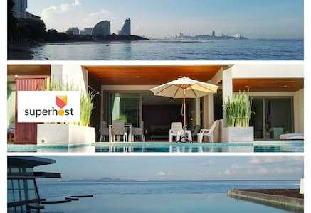 Fantastic Beachfront Pool Access - Muang Pattaya - 公寓