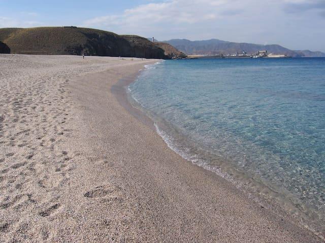 Carboneras Apt. 50m from the beach!