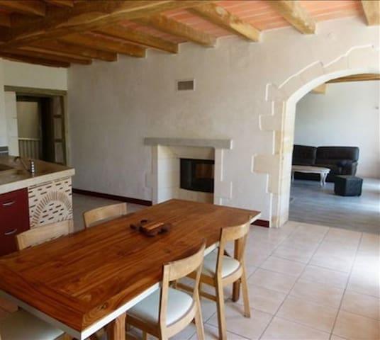 maison en campagne 3 chambres 2 sdb - Sainte-Gemme